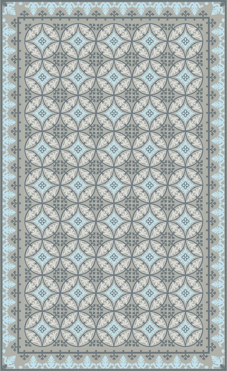 Huella deco tapis de cuisine design for Tapis de cuisine vert d eau